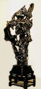 Scholar's Rock - Mohu Black Ying Stone
