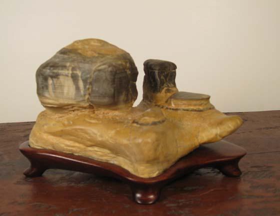 HS6 Luliang Stone 7x13x9 cm $220