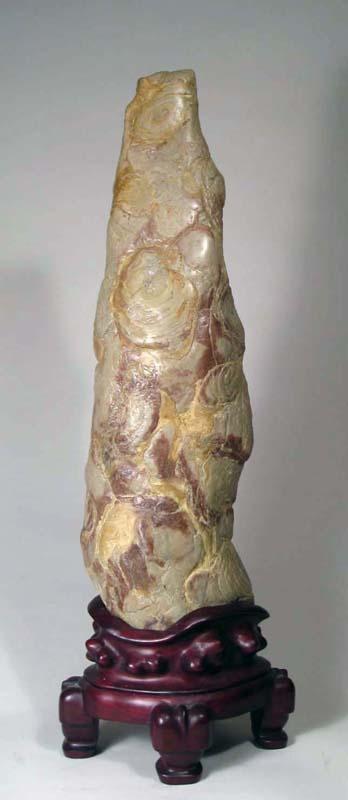 M08 Calico Lingbi Stone 54x17x10 cm